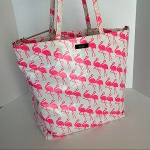 Kate Spade Bon Shopper Flamingo Tote Baby Bag